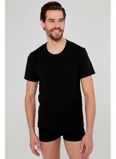 Penti Siyah Basic Regular 2Li Tişört Siyah